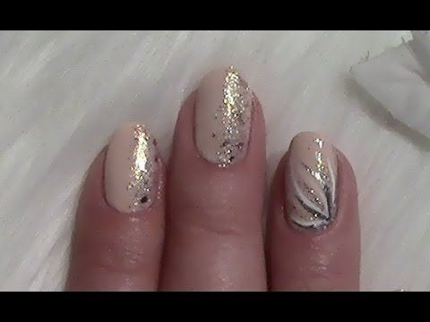 Make Simple Nude Nail Design für kurze Nägel selbst / Simple Nail Art von … – nagels