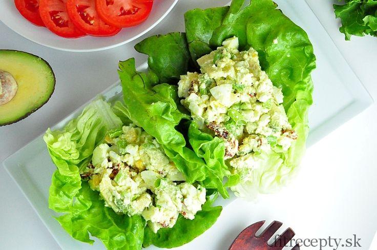 Výborný avokádovo vajíčkový šalát - FitRecepty