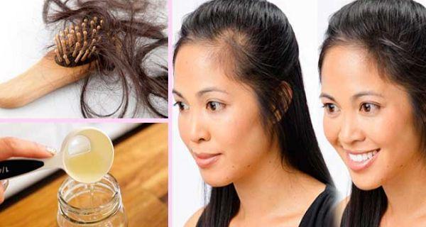 Agregue esto a su champú y evitará la caída de su cabello para siempre, resultados mágicos !!!