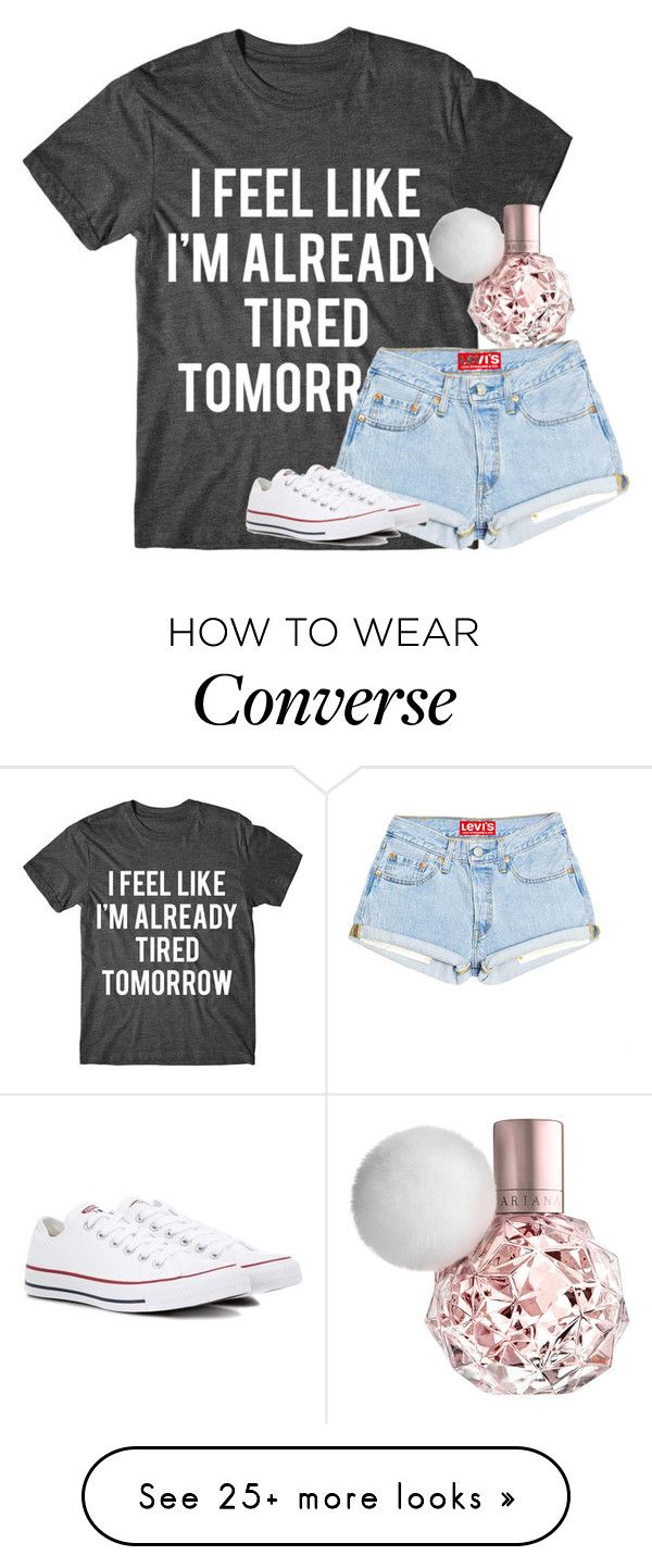 """Untitled #2726"" by laurenatria11 on Polyvore featuring Converse"