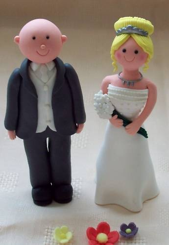 bald groom and bride wedding cake topper 11 best images about on diy 11050
