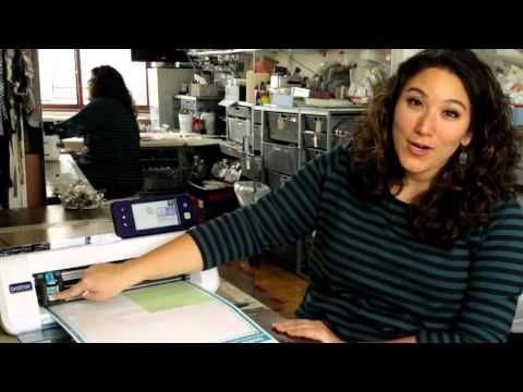 Create Custom Stencils with ScanNcut and Stencil Sheets - YouTube