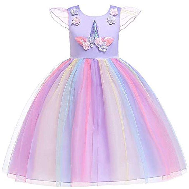 Fuxitoggo Baby-Nette Blumen-Kleid-Chiffon- Sleeveless Blumen-Mädchen-Kleid-Einh…