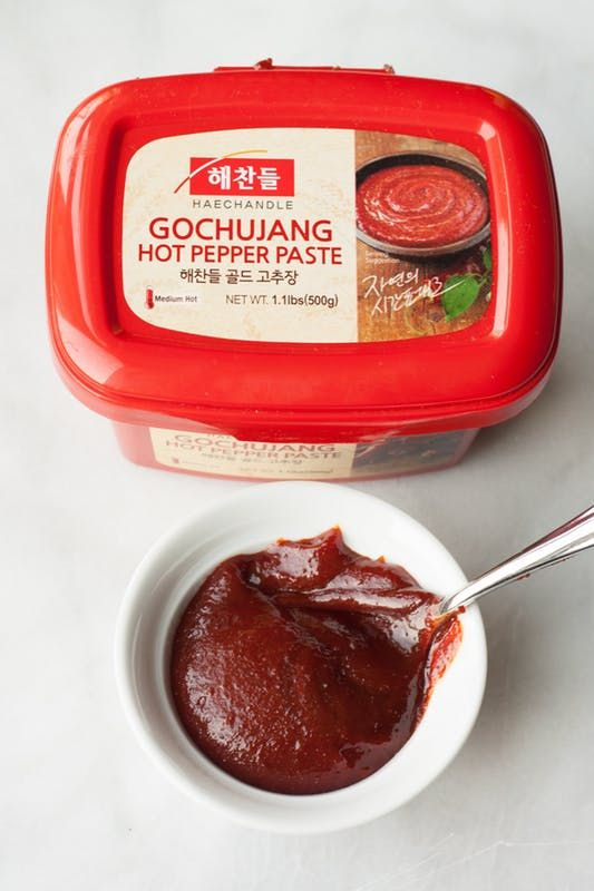 This Korean red pepper paste will add serious kick and depth of flavor to anything you stir it into.
