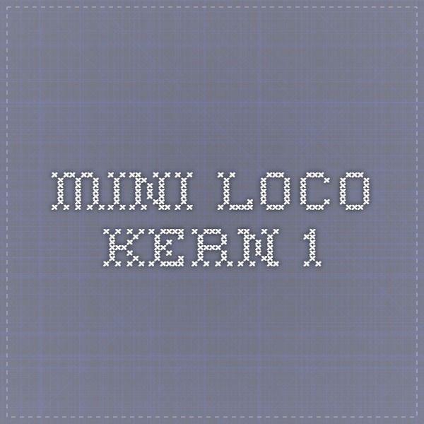 mini loco kern 1