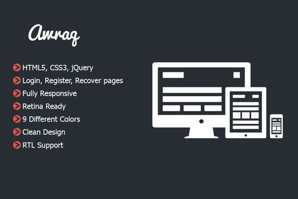 Check out Awraq - Responsive and Retina pages by Perso Themes on Creative Market