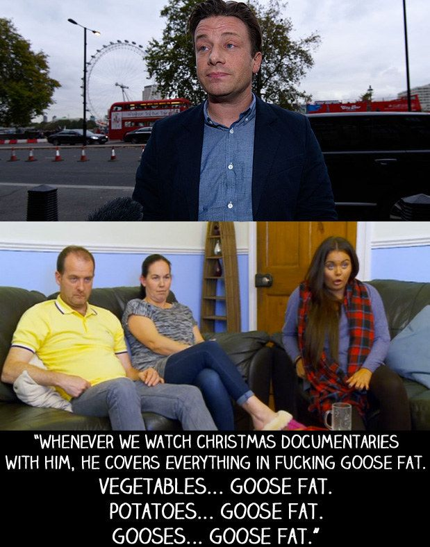 """When Jamie Oliver launched a campaign against obesity by asking parliament to add a sugar tax to fizzy drinks. 