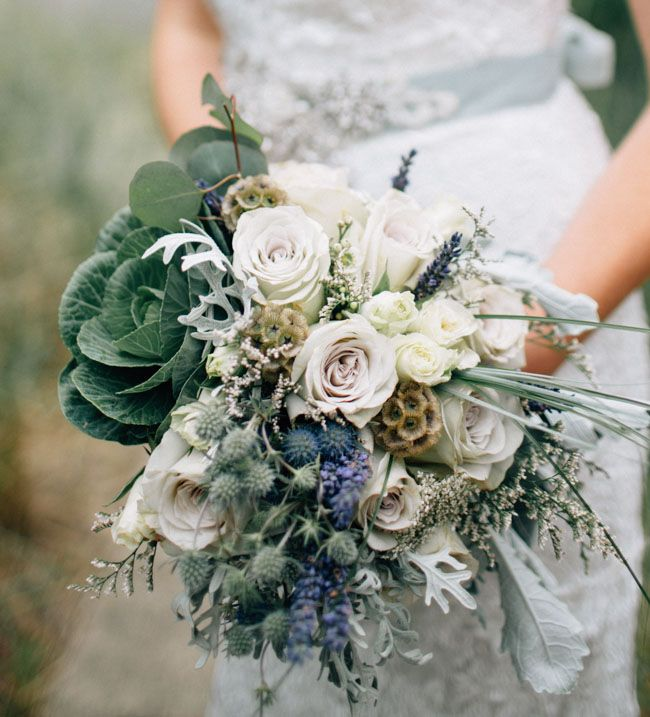 ocean blue bouquet | photo by Bethany Small