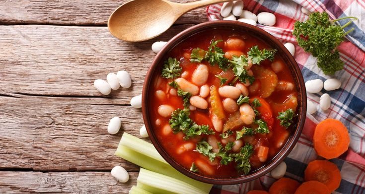 Print Yum Naked Minestrone Soup Yield: 8 servings  Ingredients 5 cloves of garlic 4 ½ cups organic low-sodium vegetable stock or filtered ... Read More