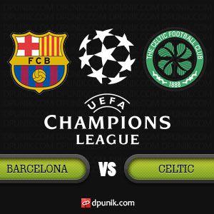 DP BBM Barcelona vs Celtic