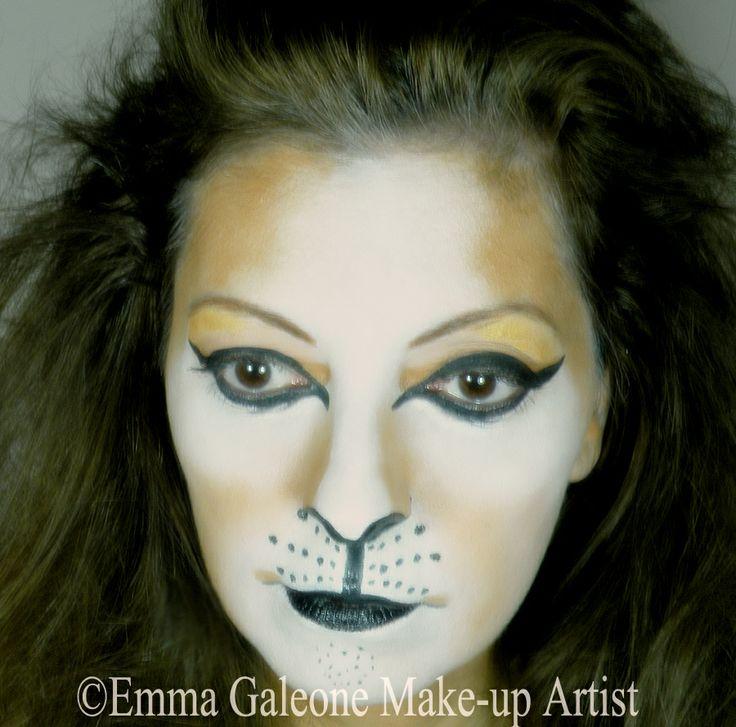 Lion make-up   Trucco da leone