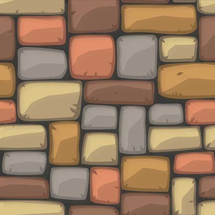 Colorful Brick Wall Texture - FREE