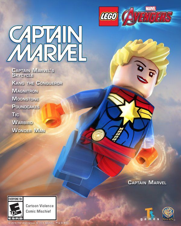 LEGO Marvel Avengers Captain Marvel & The Masters Of Evil Packs Available Now