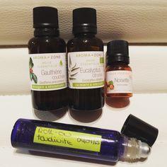 L'aromathérapie peut vous aider à résorber une tendinite, découvrez la recette d'un roll-on aux huiles essentielles.