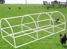 Pvc Chicken Coop Plans And Kits Low Cost And Easy Www