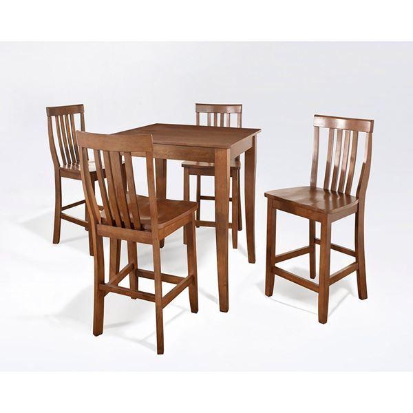 Picture of 5-Piece Pub Dining Set, Cherry *D