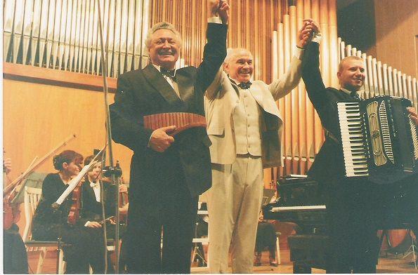 Концерт в Органном зале. Кишинёв.