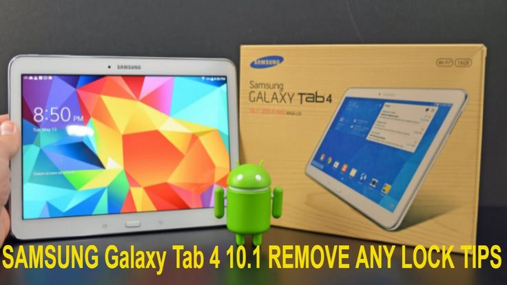 Android 4.4: How to Hard Reset The Samsung Galaxy Tab 4 10.1 (SAMSUNG Ga...