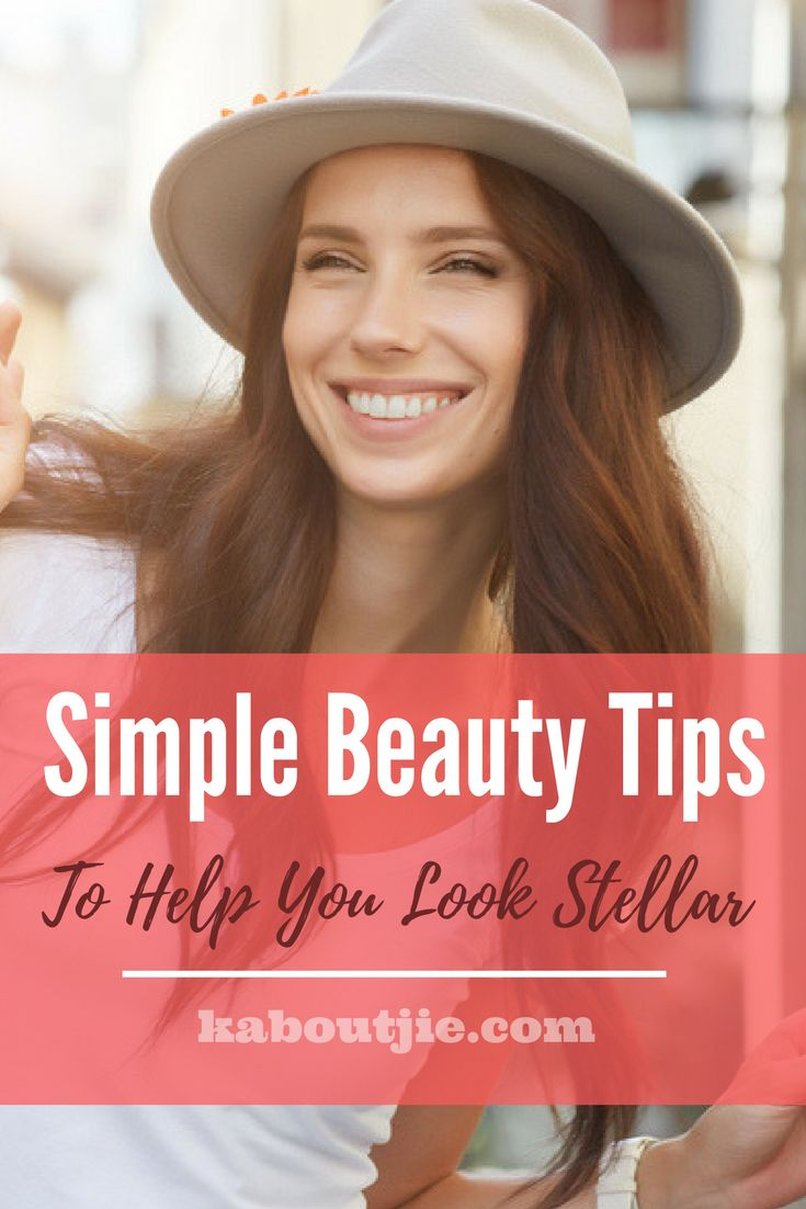Simple Beauty Tips To Help Your Look Stellar  Looking great doesn't have to be rocket science, there are some very simple things you can do on a regular basis to keep looking great. Here are some simple beauty tips to help you look stellar.    #beauty #beautytips #beautiful #simplebeautytips