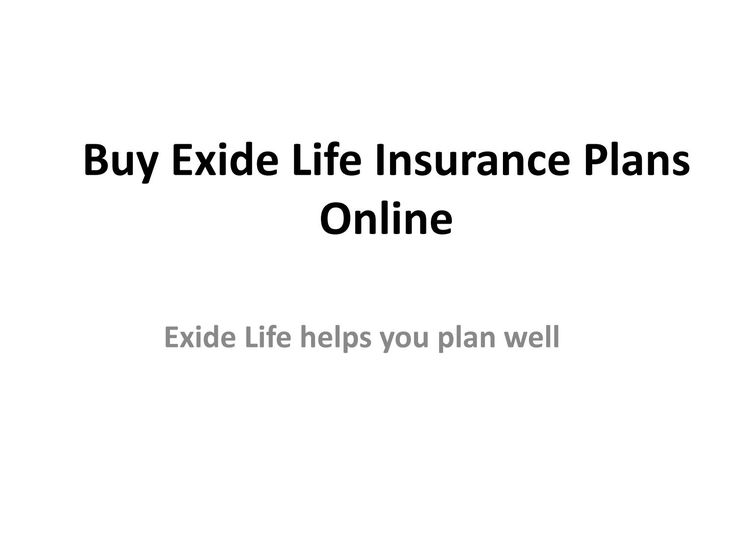 Exide Life Insurance - Compare Plans  And Buy Online