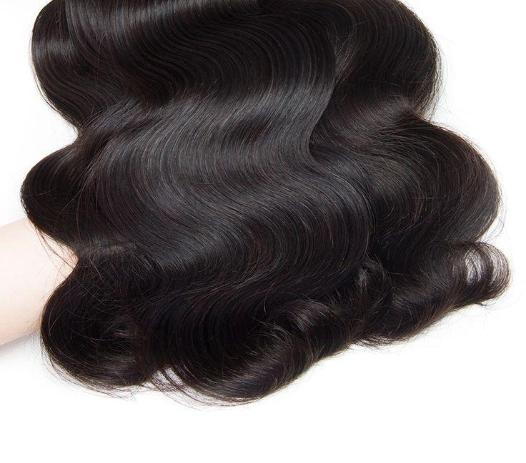 Brazilian Body Wave13x4 Ear to Ear Lace Frontal Closure with 3∕4 Human Hair Weav-03    https://www.sishair.com/