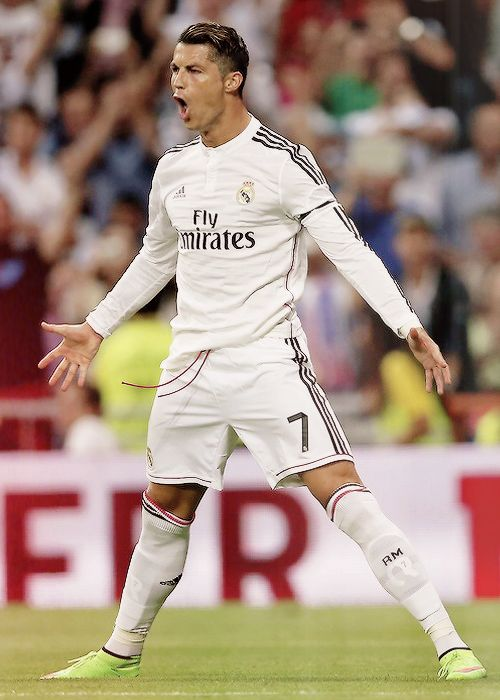 It`s the best celebration of ronaldo........................He is the Goal machine