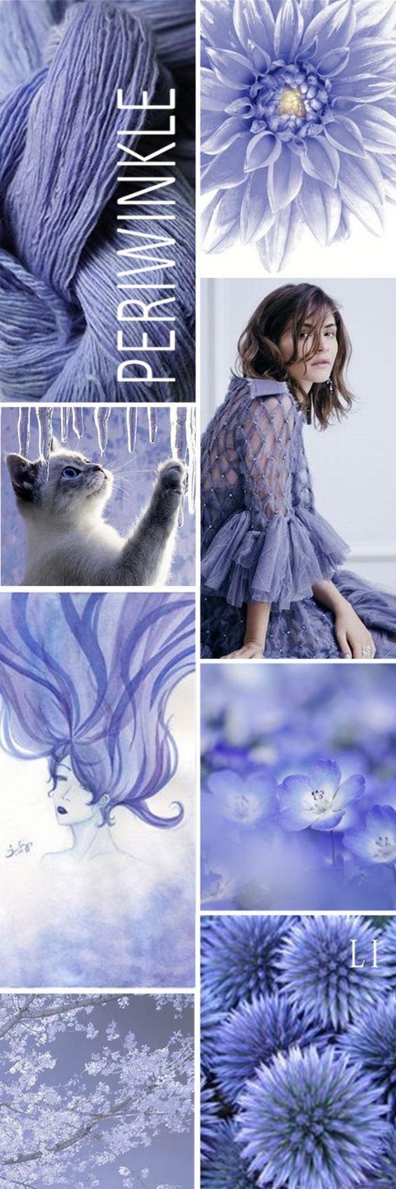 Сиренево-голубой