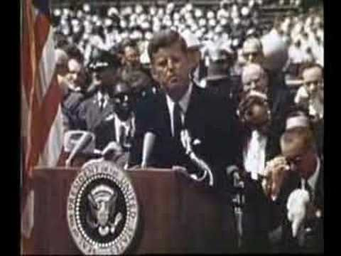 We Choose to go to the Moon! Primary source links for JFK's speech about putting a man on the moon, Sept. 12, 1962.