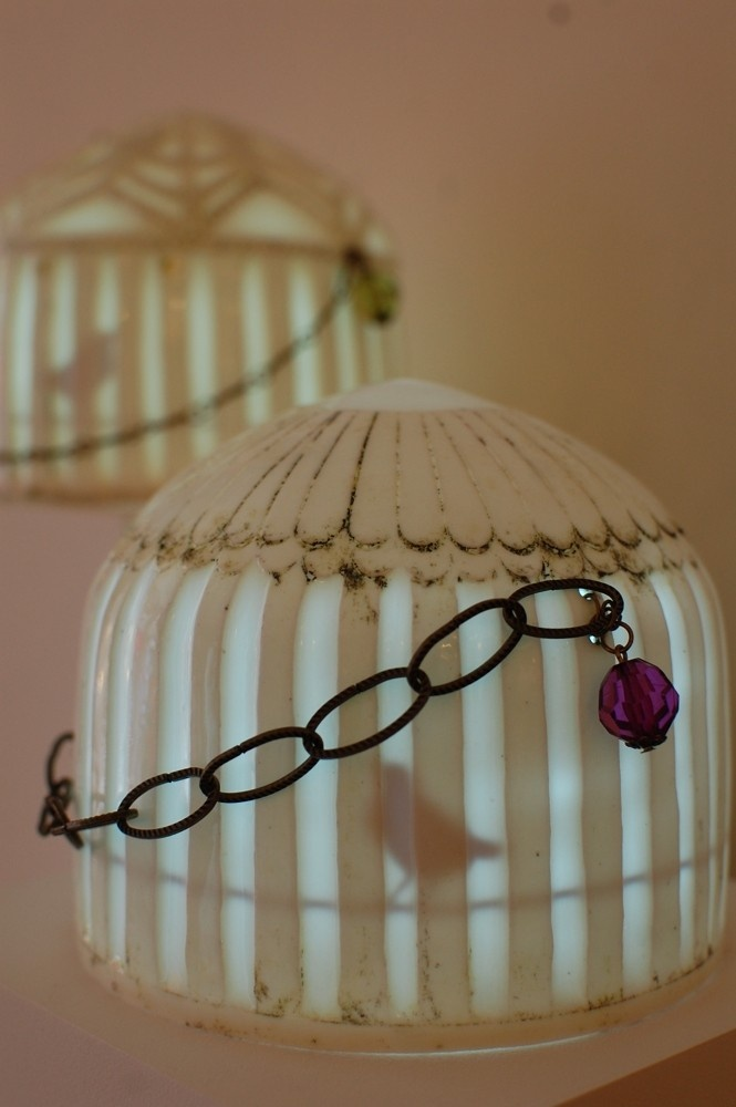 Fine bone china birdcage lamp by holly ross radiance