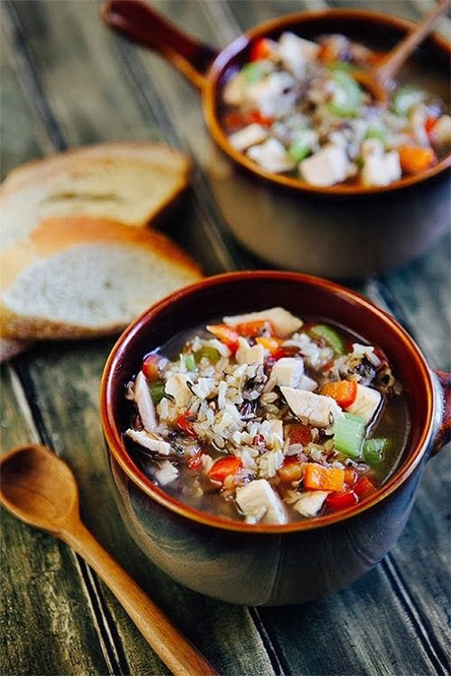 Some the Wiser: Chicken Soup with Rice: A Recipe for Comfort and FoodNoodles Soup, Chicken Recipe, Rice Soup, Chicken Soups, Wild Rice, Soup Recipe, Rice Recipe, Chicken Noodles, Food Recipe