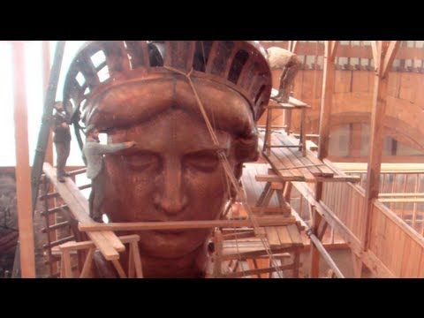The History of the Statue of Liberty - YouTube
