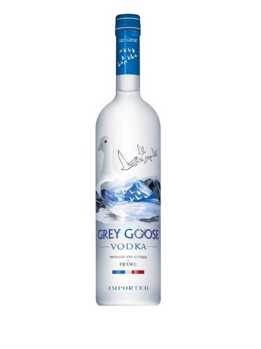 Grey Goose Vodka. Nice.