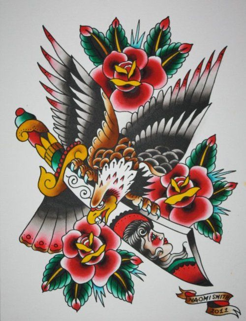 Hot Naomi Smith Tattoo Flash   KYSA #ink #design #tattoo