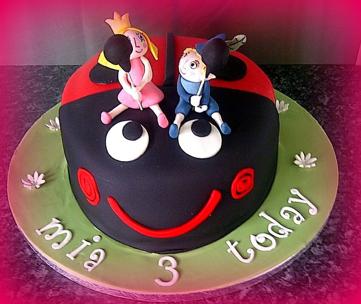 Ben and Holly cake.