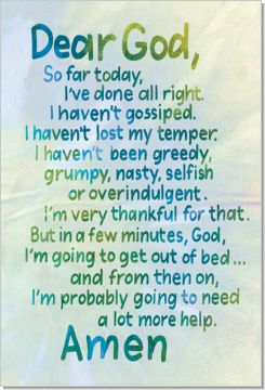 Prayer for the day: God Will, Help Me, Dear God, Mornings Personalized, Mornings Prayer, Calligraphy Art, Funny Quotes, So True, So Funny