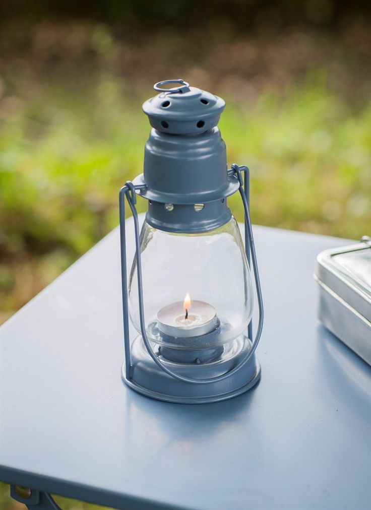 A charming lamp to hold tea lights for special occasions