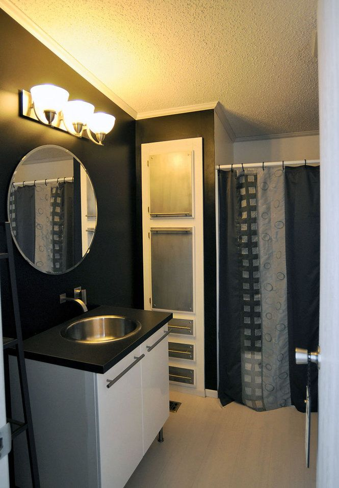 Modern NY Double Wide With Great Manufactured Home Remodeling Ideas Style - Model Of mobile home bathroom remodel For Your House