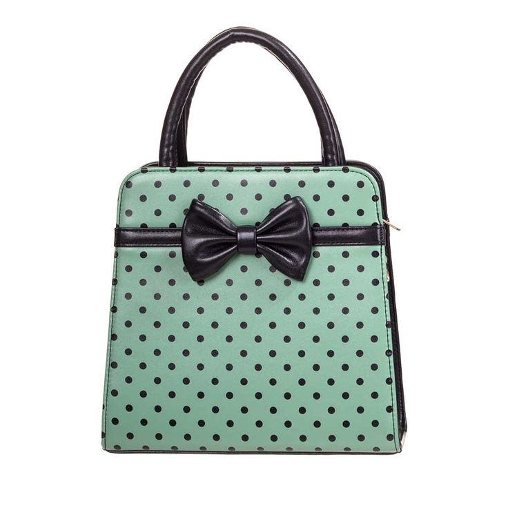 Carla bag with bow and polkadot print mi