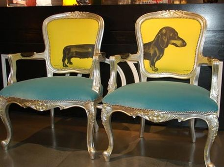 25 best ideas about upholstery fabric for chairs on for Funky fabric dining chairs