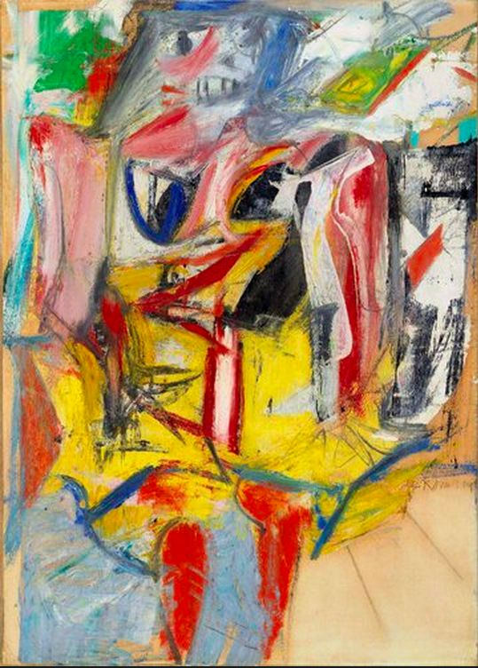 Willem de Kooning - Woman (1953)