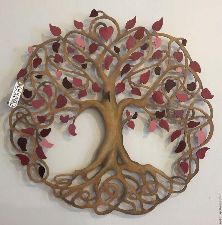 """Купить Свадебный декор """"Древо"""" - древо жизни, дерево, замок, свадьба, церемония, бракосочетание, любовь"""