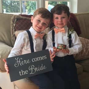 Ring bearer outfits, boys suits and suspenders. Perfect wedding party, groomsman, alter boys, page boys.