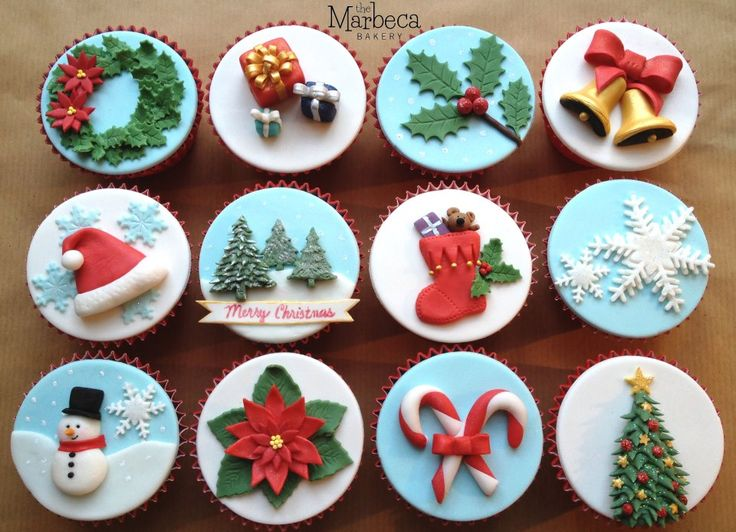 Christmas Cupcake Decorating Ideas Pinterest : 33 best images about Cupcakes, Cupcakes and more Cupcakes ...