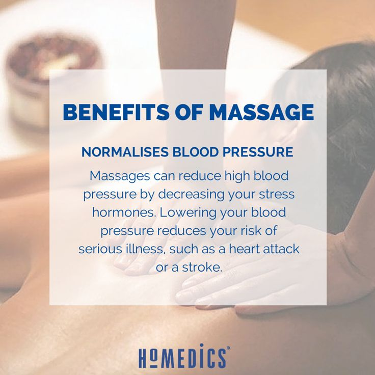 Do you have high blood pressure? Why not try massage.