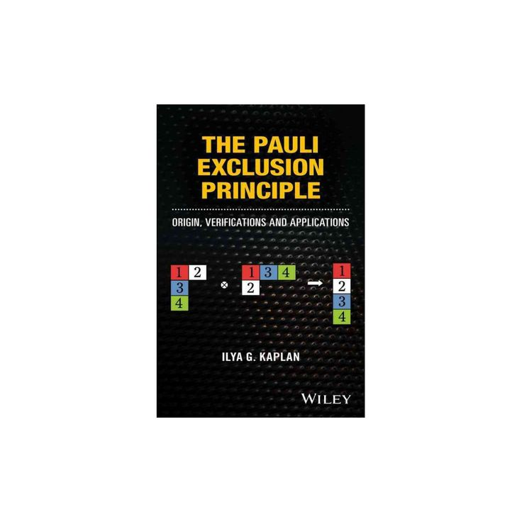 Pauli Exclusion Principle : Origin, Verifications and Applications (Hardcover) (Ilya G. Kaplan)