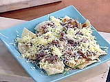 Picture of Duck Confit Nachos with Corn-Chipotle Salsa Recipe