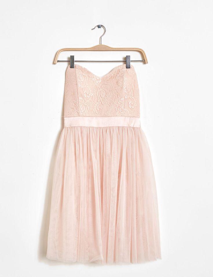 17 meilleures id es propos de robes rose p le sur pinterest f minin robe rougeur et robes. Black Bedroom Furniture Sets. Home Design Ideas