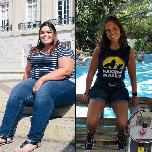 Похудение фото до и после подростки