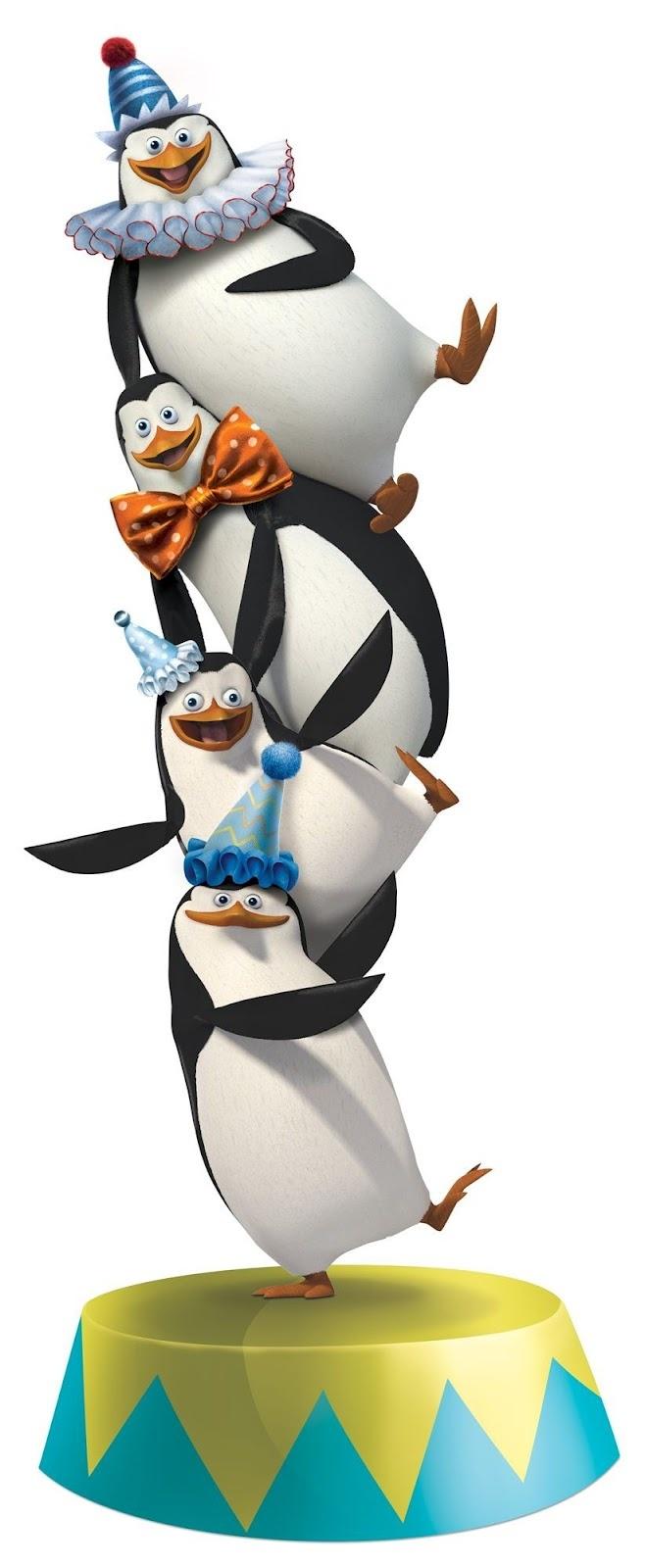 Pingüinos de Madagascar.