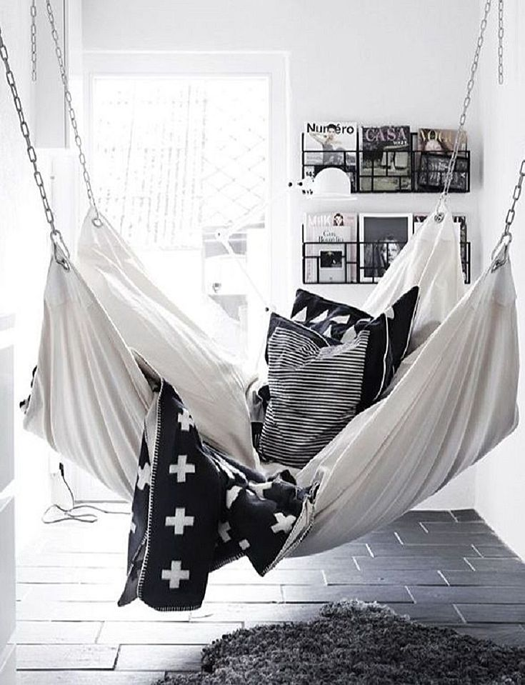 Fashionable interieur - hammock